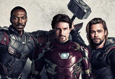 Как выглядели бы Мстители, если бы фильмы о них снимались в 90-х