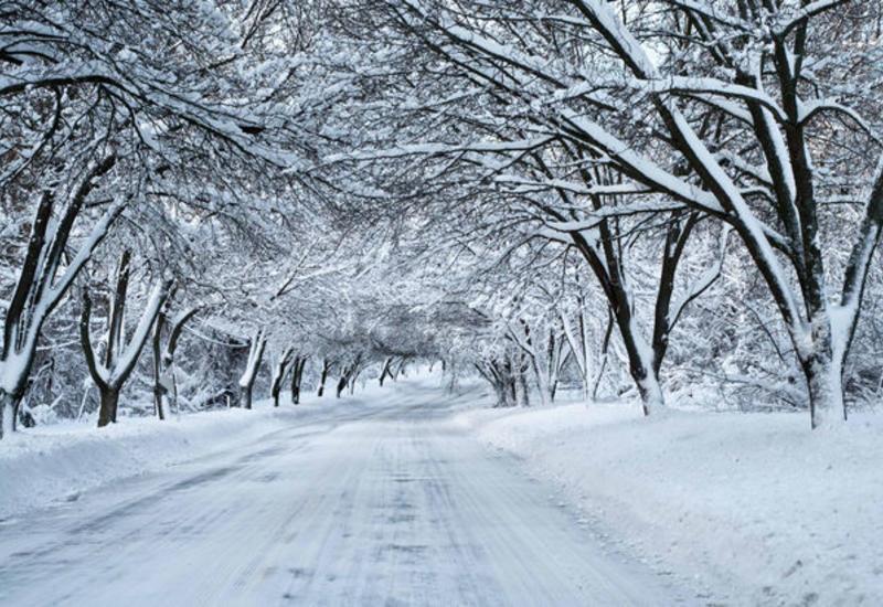 В Азербайджане пойдет снег