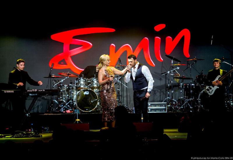 EMIN выступил с концертом в Монако