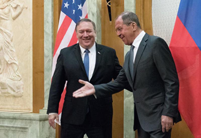 Переговоры Лаврова и Помпео продолжались почти три часа