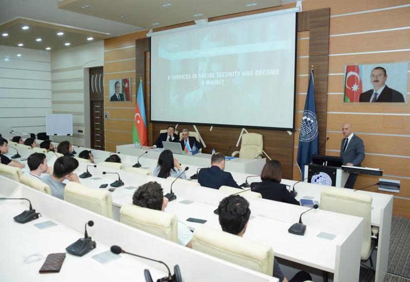 Генеральный секретарь ISSA побывал в UNEC