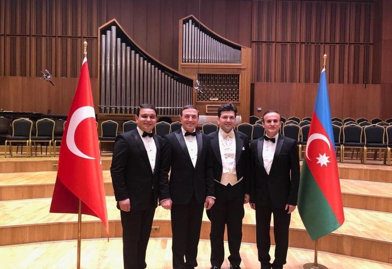 Азербайджанские музыканты выступили в Турции с ошеломительным успехом
