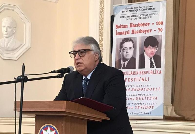 В Баку состоялось открытие Республиканского фестиваля юных музыкантов