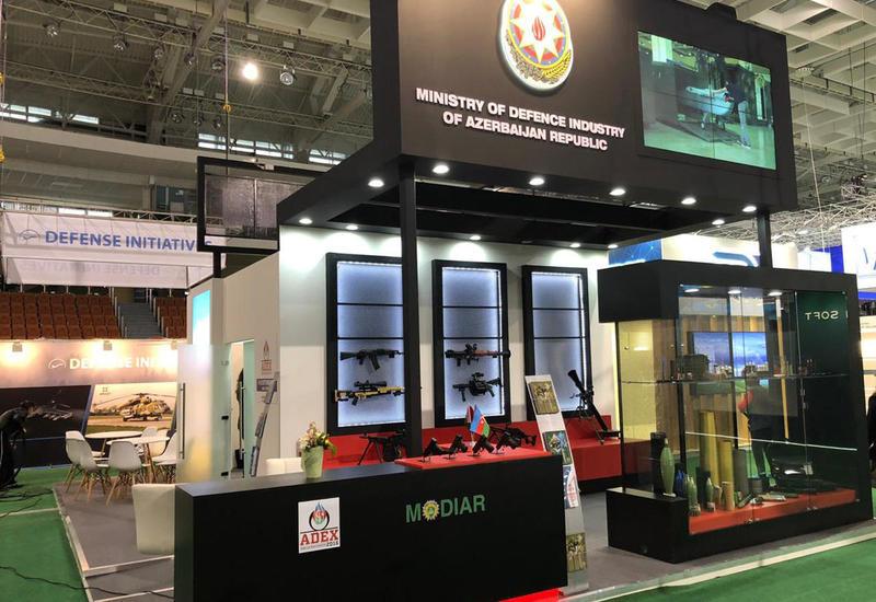 Азербайджанское оружие представили в Беларуси