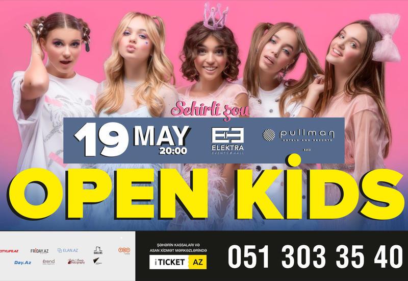 В Баку выступит поп-группа Open Kids