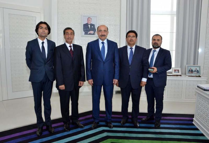 Гаджи Исмайлову, Ядигару Мурадову, Балашу Касумову и Эльману Талыбову вручены государственные награды