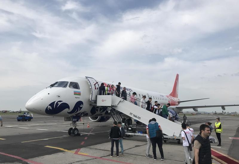 Первый рейс Buta Airways по маршруту Баку-Одесса
