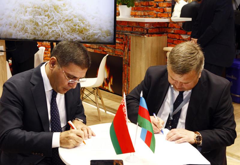 Азербайджанская промышленная корпорация и «Белгоспищепром» подписали протокол о сотрудничестве