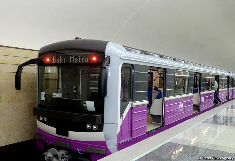Бакинский метрополитен получит новые вагоны