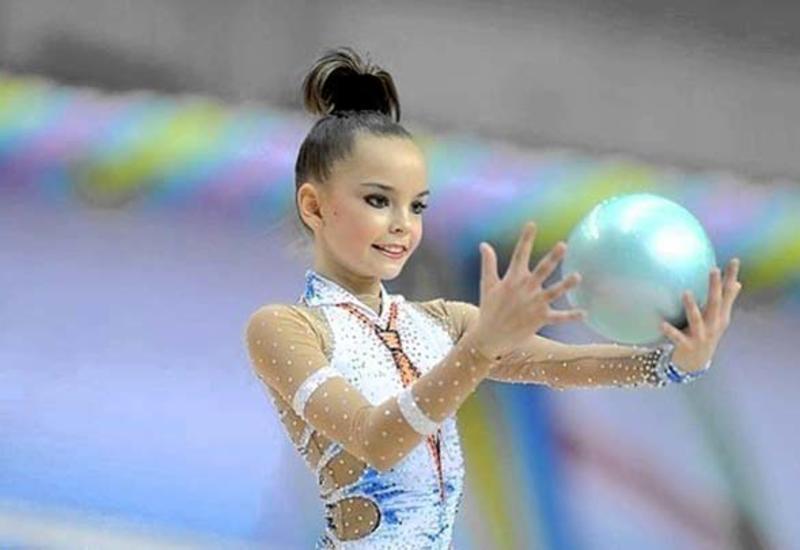 Арина Аверина выиграла золотую медаль 35-го Чемпионата Европы по художественной гимнастике в упражнениях с мячом