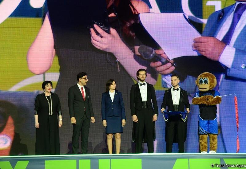 В Баку прошла церемония закрытия 35-го Чемпионата Европы по художественной гимнастике