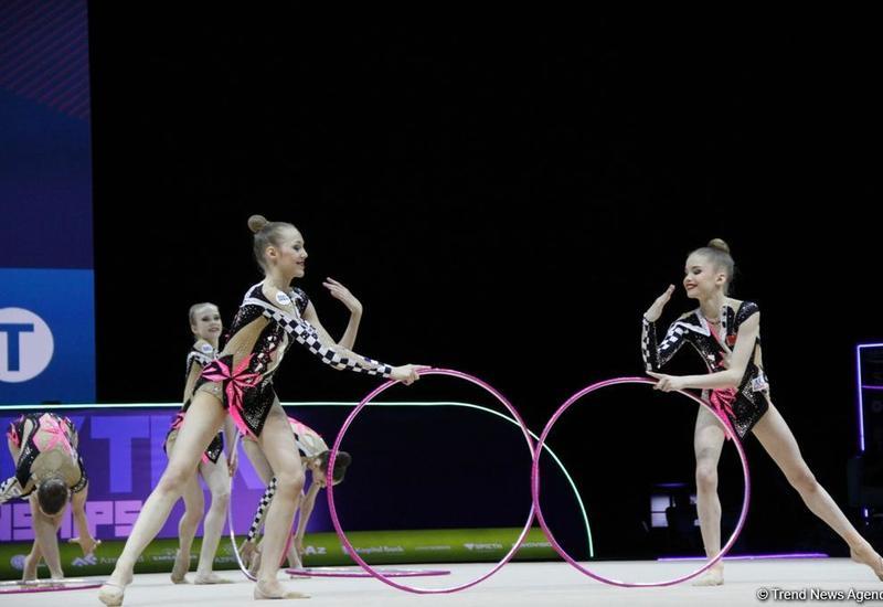 В Баку стартовали финалы 35-го Чемпионата Европы по художественной гимнастике