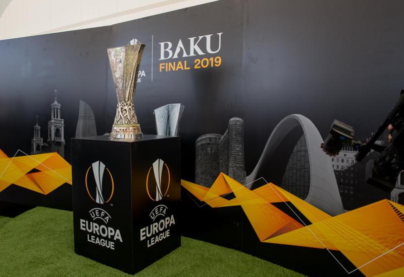 Легендарный кубок Лиги Европы UEFA прибыл в Гянджу