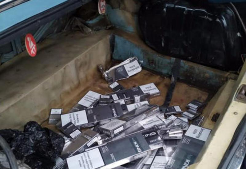 В Азербайджане предотвратили крупную контрабанду сигарет