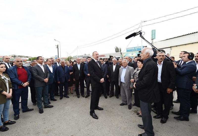 Президент Ильхам Алиев: Повышение пенсий, зарплат, пособий - один из стоящих на повестке вопросов