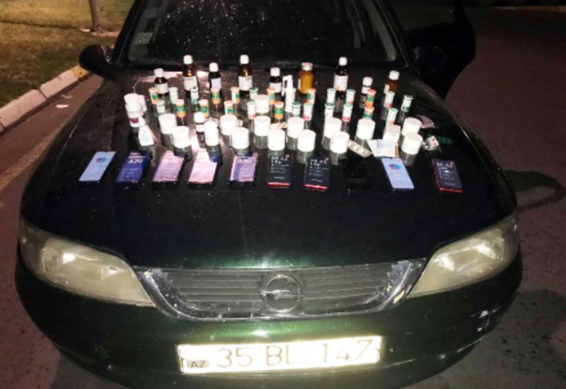 Азербайджан предотвратил крупную контрабанду лекарств и телефонов