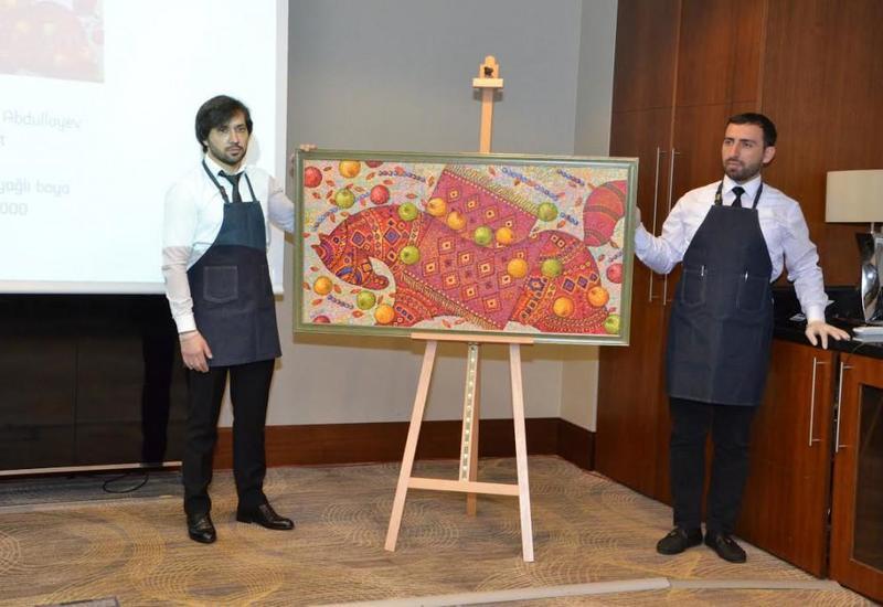 Первый аукцион произведений искусства в Азербайджане