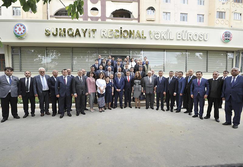 В Азербайджане открылась первая региональная структура Коллегии адвокатов