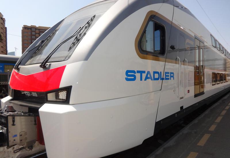 Азербайджан запустит скоростной поезд Баку-Габала