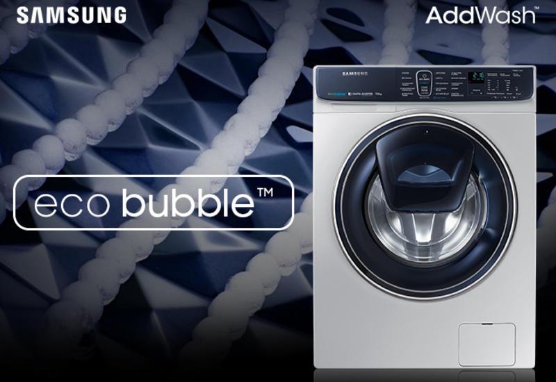 Идеальная чистота со стиральными машинами Samsung AddWash