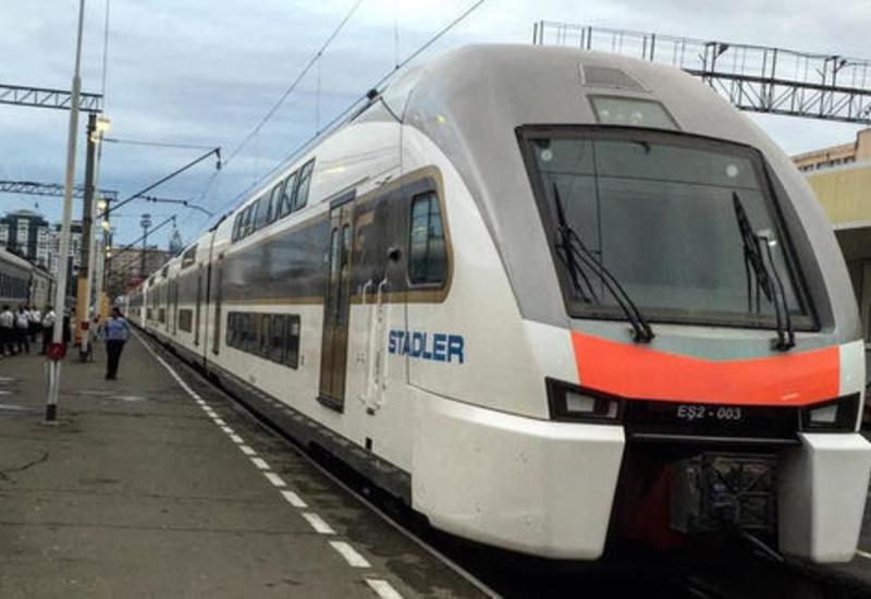 Объявлена стоимость проезда на новой электричке Баку-Сабунчу