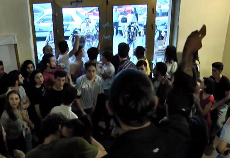 В Ереване снова студенческие волнения