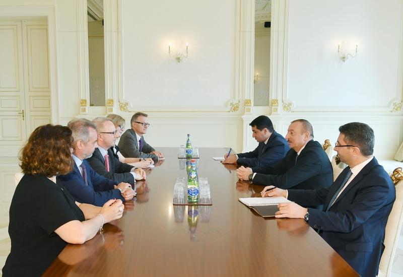 Президент Ильхам Алиев: Азербайджано-германское сотрудничество находится на очень высоком уровне и имеет хорошие перспективы