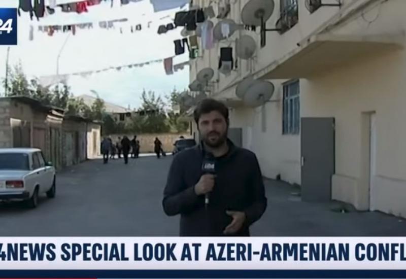 Израильский телеканал: Нагорный Карабах - международно-признанная территория Азербайджана