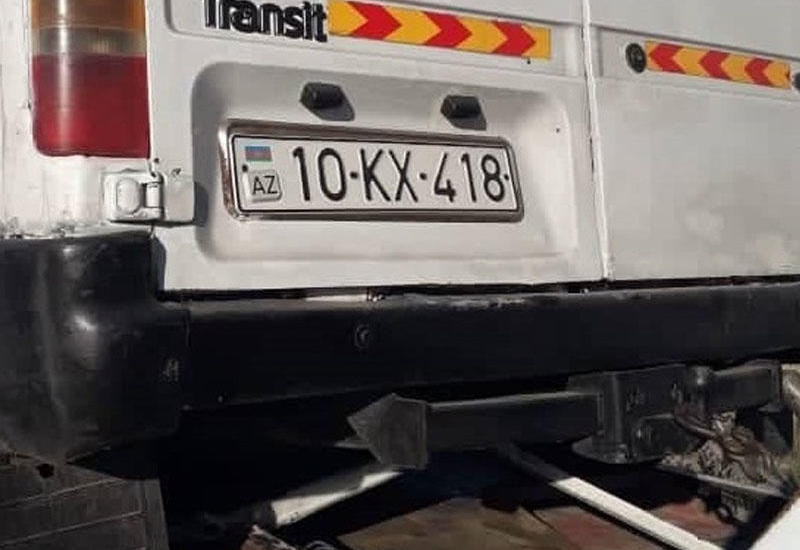 """В Азербайджане """"КамАЗ"""" столкнулся с микроавтобусом, есть погибшие"""