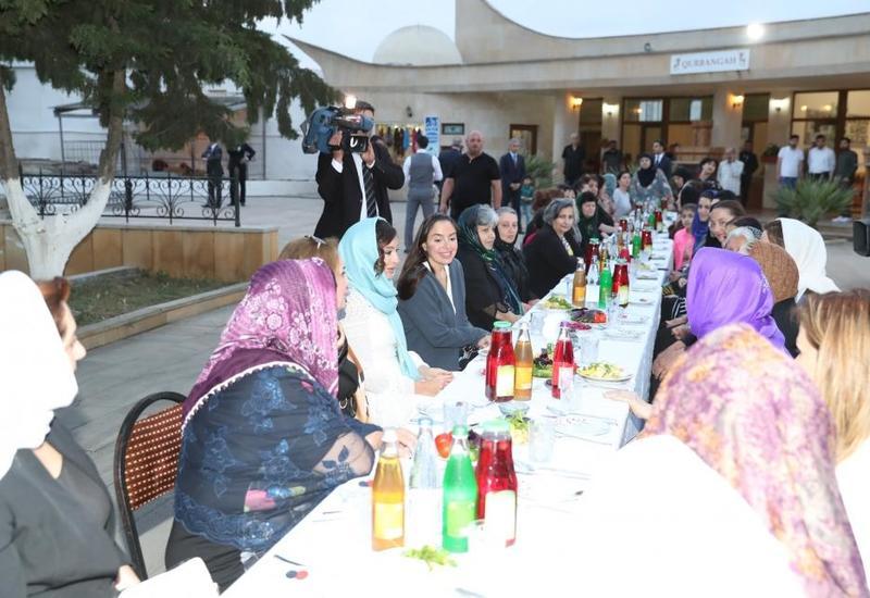 Первый вице-президент Азербайджана Мехрибан Алиева приняла участие в церемонии ифтара