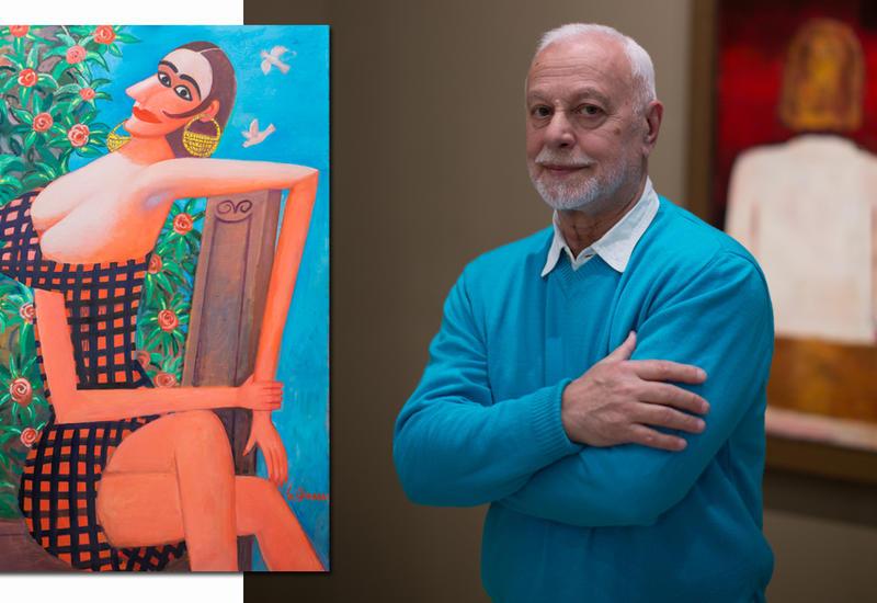 """Известный художник выразил любовь к Женщине потрясающей выставкой """"Amore Mio"""""""