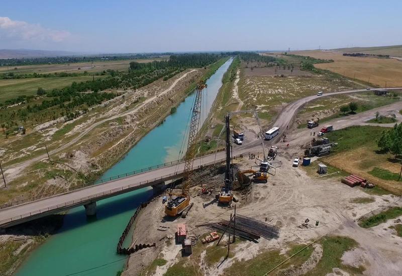 В Азербайджане ремонтируют эту трассу