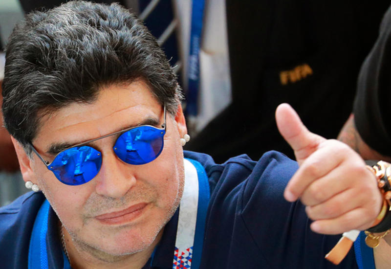 Марадона опроверг факт своего задержания в Буэнос-Айресе