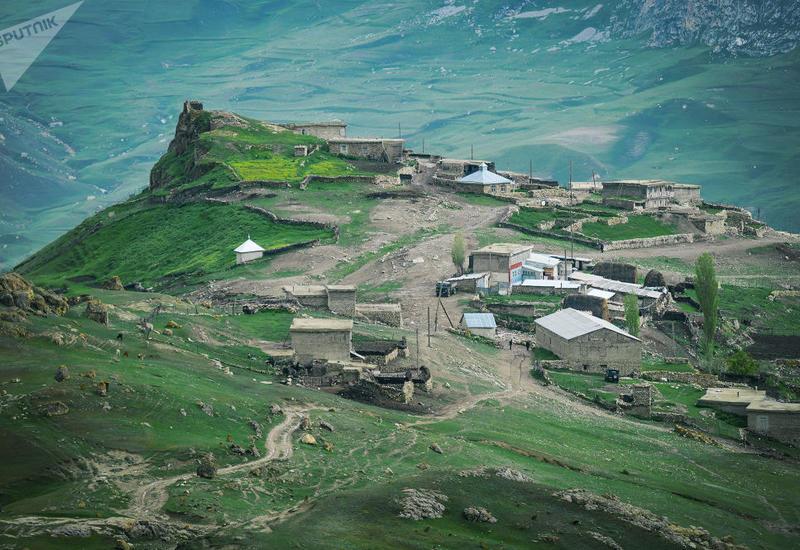 Живущие над облаками: азербайджанское село, где говорят на собственном языке