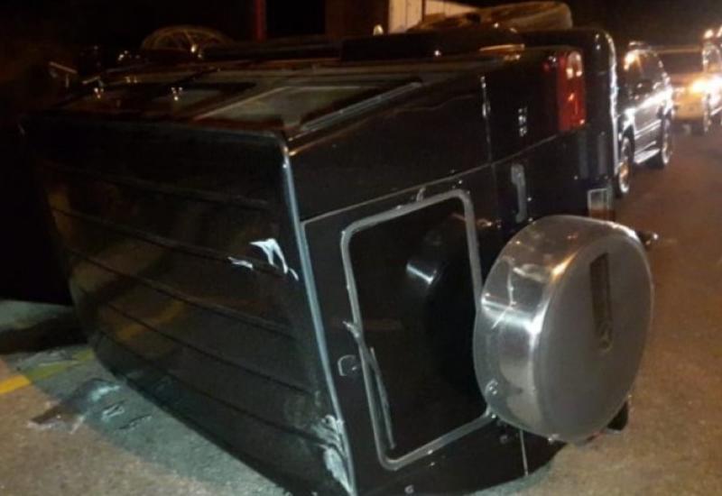 «Gelandewagen перевернулся в воздухе»: Водитель спровоцировал ДТП в Баку