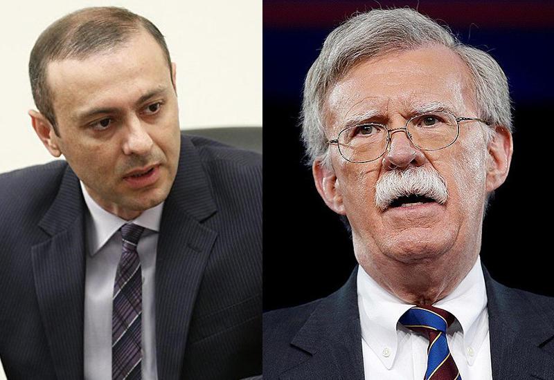 Болтон отказался от встречи с главой Совбеза Армении