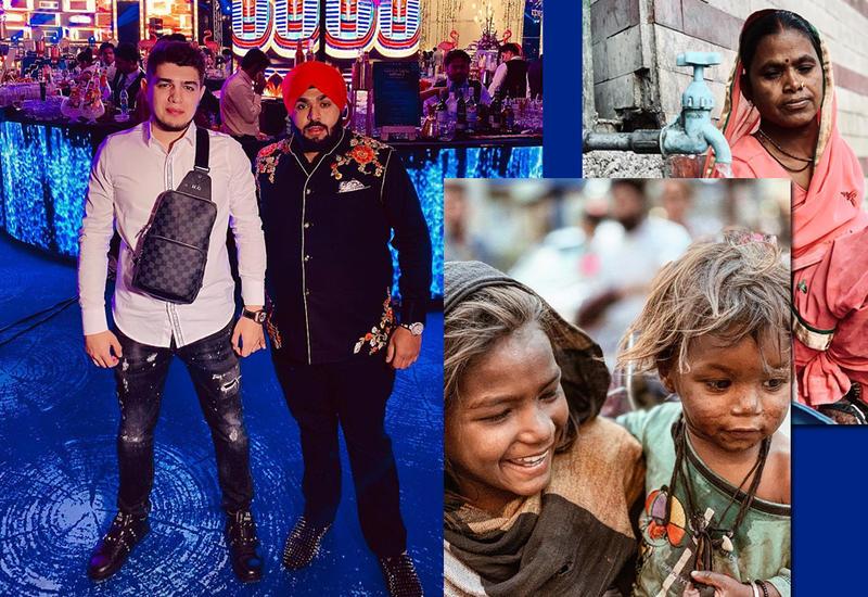 Индия глазами азербайджанца – Известный видеограф запечатлел контраст трущоб и богатой свадьбы