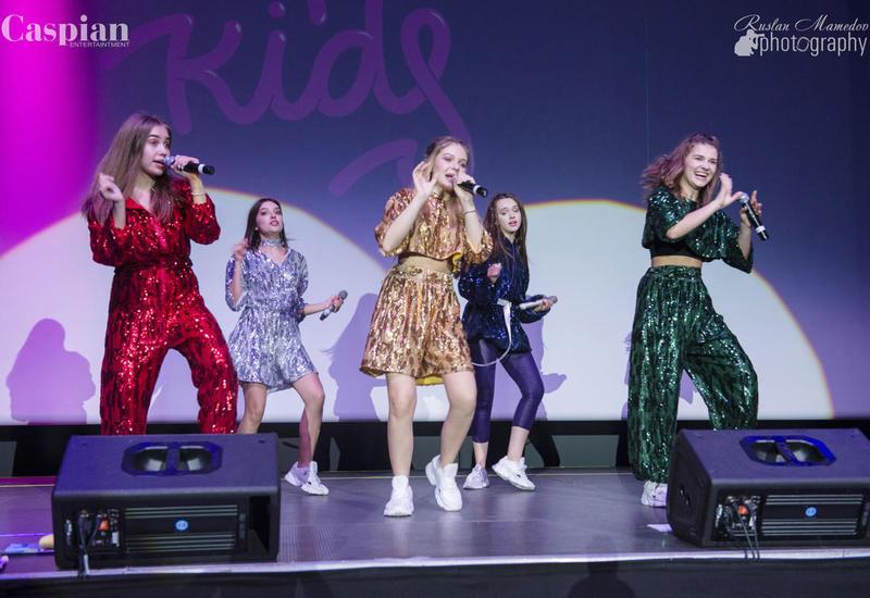 Open Kids на бакинской сцене