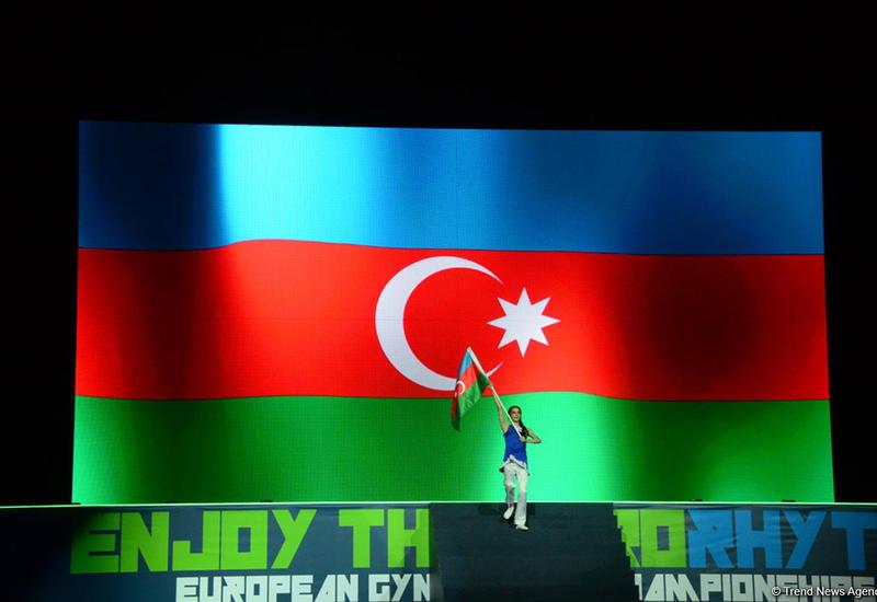 Потрясающая церемония открытия 11-го Чемпионата Европы по аэробной гимнастике