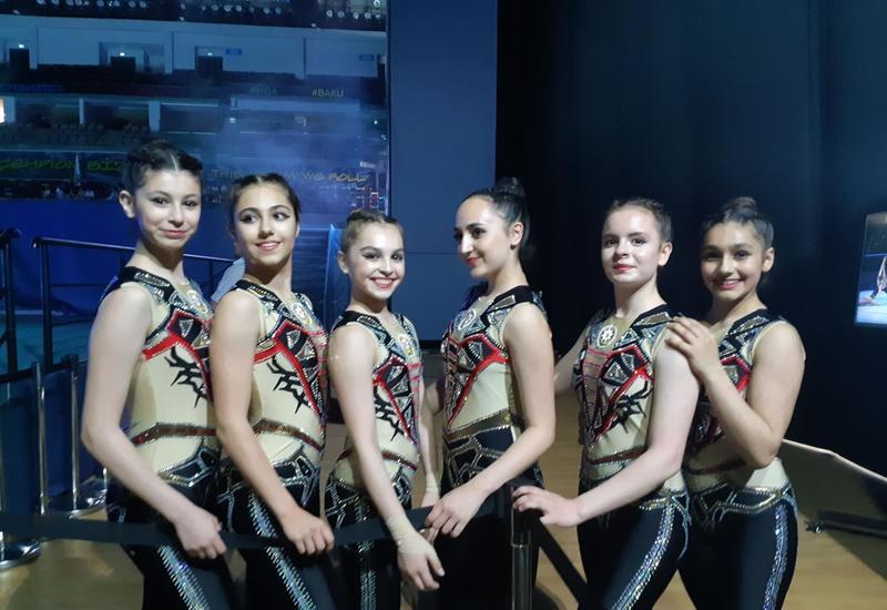 Все прошло хорошо – команда Азербайджана по аэробной гимнастике