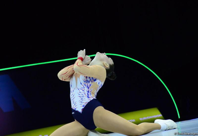 Определились финалистки Чемпионата Европы по аэробной гимнастике в женской индивидуальной программе