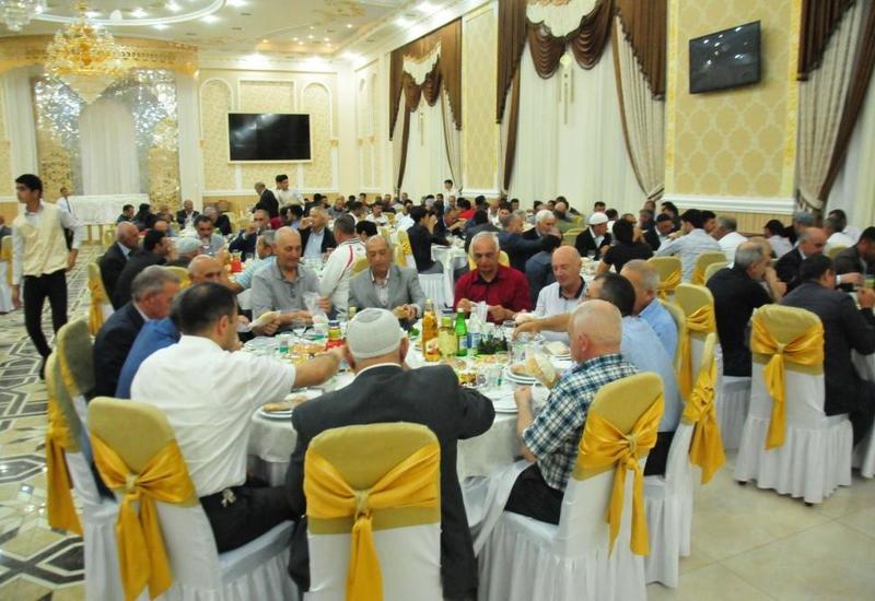 Фонд Гейдара Алиева организовал ифтар в Агсуинском районе