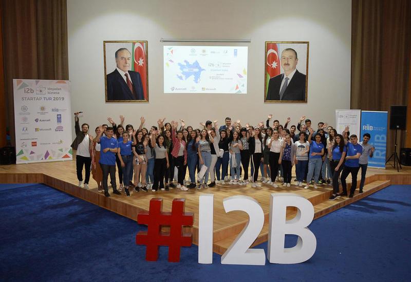 В Шеки прошел стартап-тур в рамках «I2B – От идеи к бизнесу»