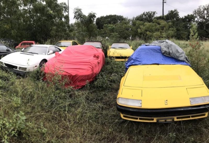 Они обнаружили поле, забитое никому не нужными Ferrari: как они там оказались