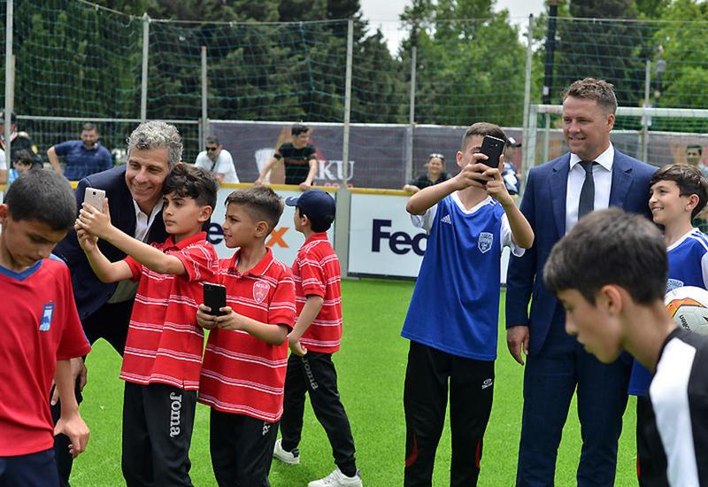 Оуэн и Тольдо открыли Фестиваль Лиги Европы УЕФА в Баку