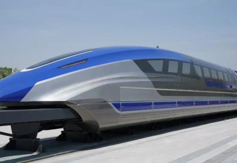 В Китае показали поезд будущего