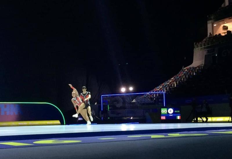 В Баку определились победители Чемпионата Европы среди юниоров, выступающих в составах смешанных пар
