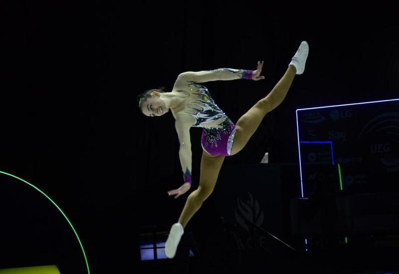 В Баку стартовали финалы 11-го Чемпионата Европы по аэробной гимнастике