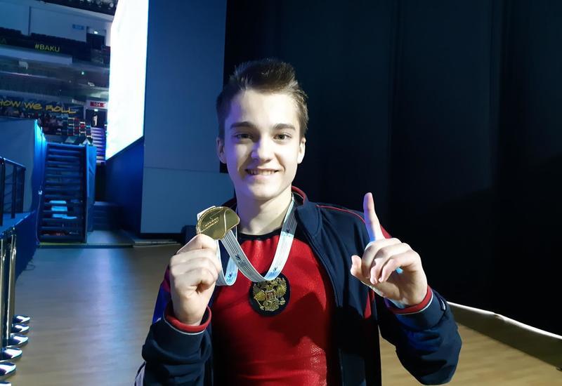 Рад и счастлив, что завоевал золотую медаль