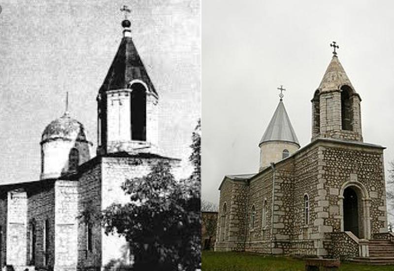Правда о русской церкви в Шуше, украденной армянами